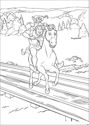 Shrek and Fiona Coloring Pages