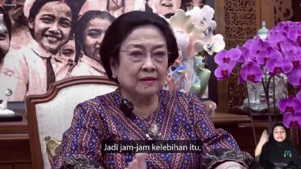 Dari Mana Asal Kodok? Inilah PR Anak Yang Diberi Oleh Megawati Saat Hari Anak Nasional   LihatSaja.com