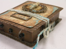 Metal Scroll Book