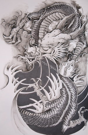 awesome dragon tattoo designs