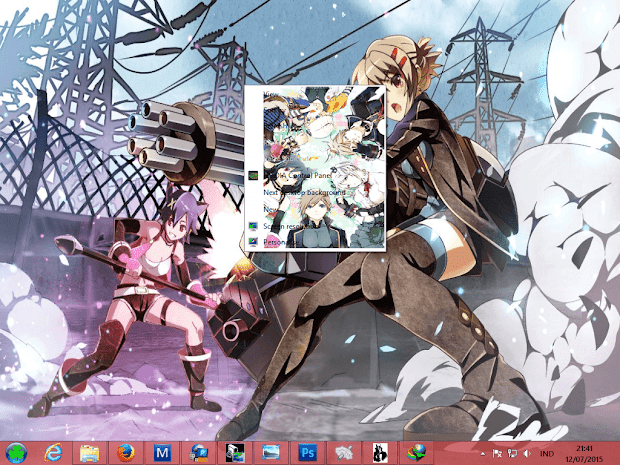 [ Theme Win 8 ] God Eater 2 4
