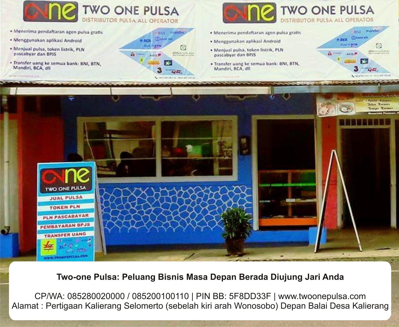Two-One Pulsa Kalierang Wonosobo