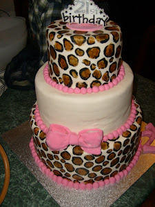 Nats Leopard Spot cake