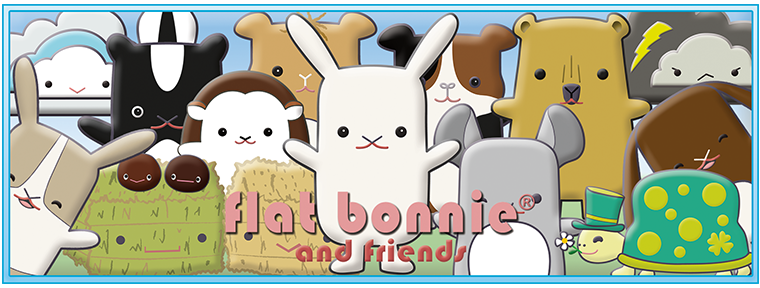 Flat Bonnie & Friends Blog