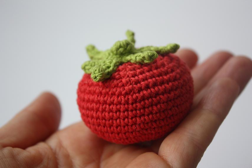 Amigurumi Vegetables : Amigurumi fruits and vegetables crochet plush food knitting