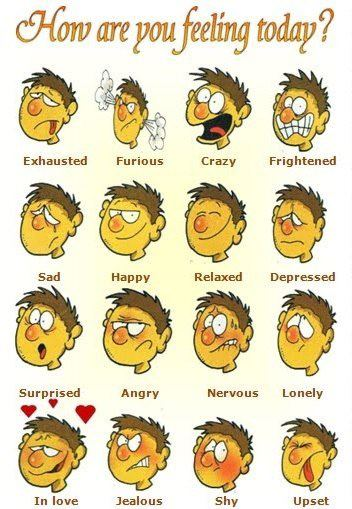 FEELINGS: HOW DO YOU FEEL?
