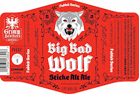 Grimm Brothers Big Bad Wolf Sticke Alt Ale