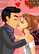 Поцелуи в Париже - Онлайн игра для девочек