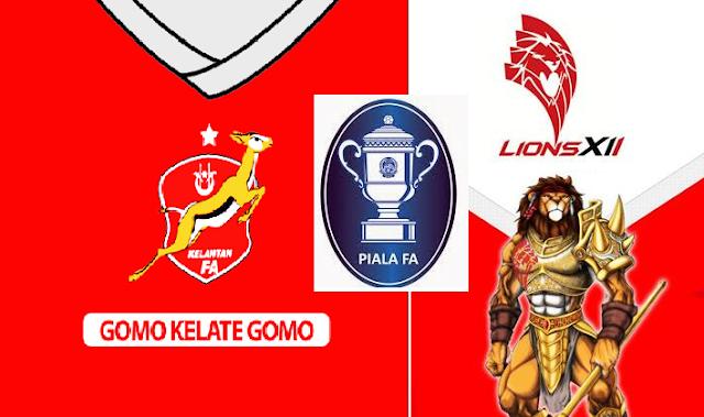 Final Kelantan Vs Lions XII Piala FA 23 Mei 2015