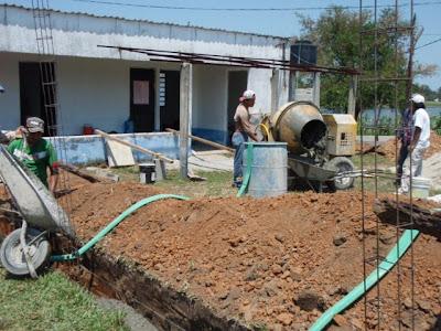 Construcción de la Casa de Salud de la comunidad Andrés García