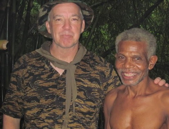 Aeta elder Antonio and Tomahawk