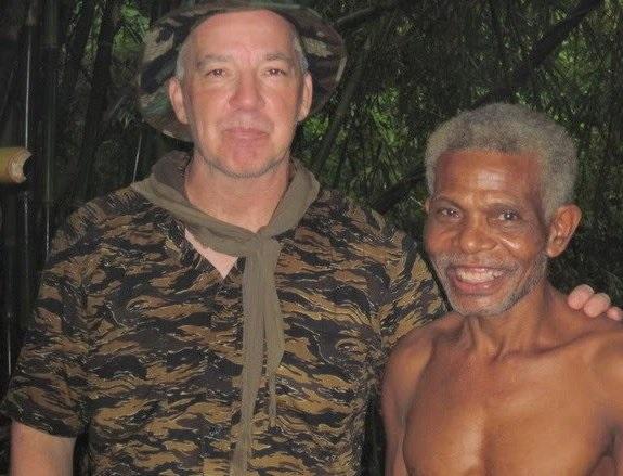 Aeta elder Antonio and Tomahawk