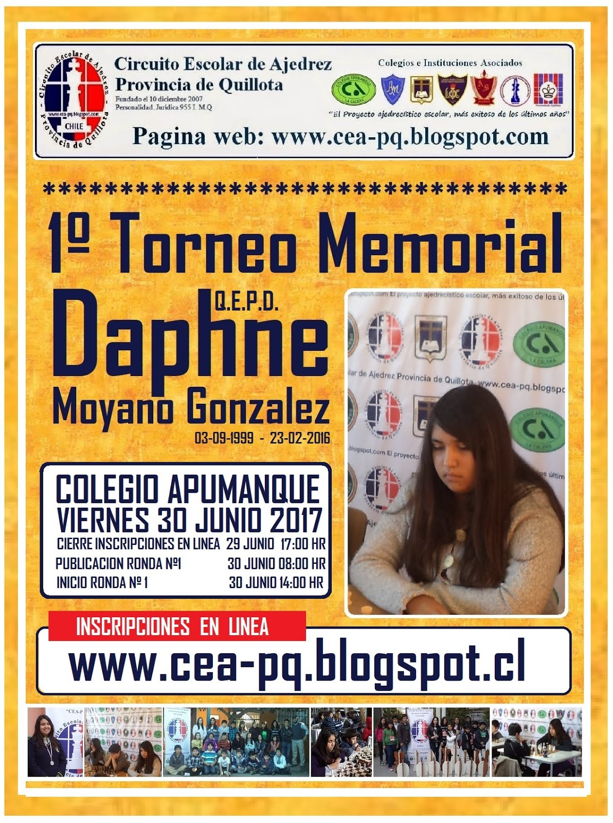 1º TORNEO MEMORIAL DAPHNE MOYANO GONZALEZ