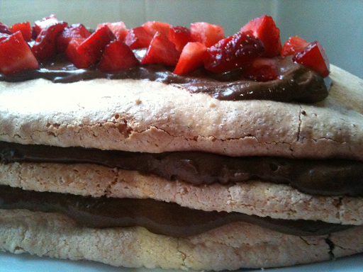 Chocolate Meringue Torte - Wheat free, gluten free