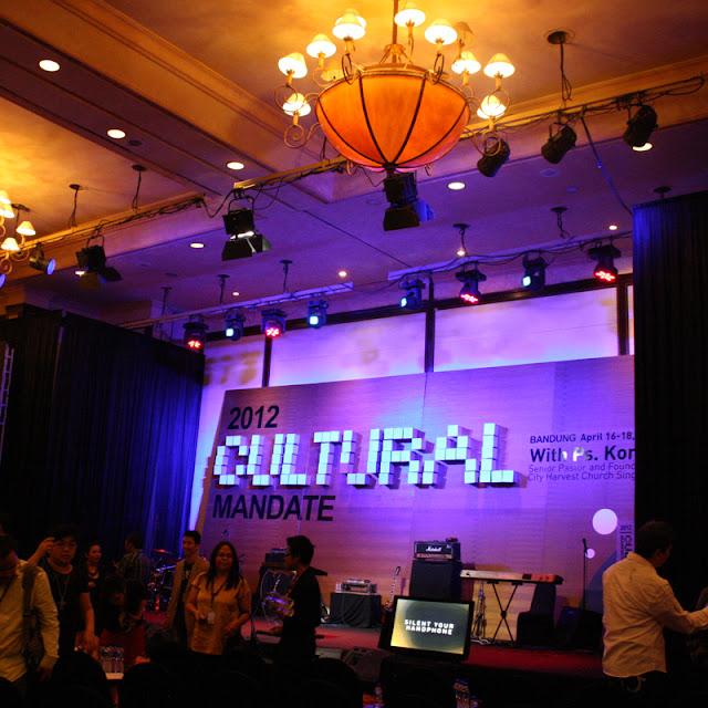 Cultural mandate 2012