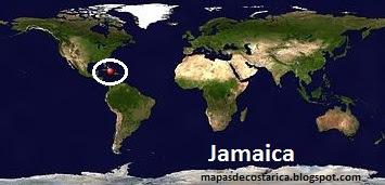 Jamaica (planisferio)