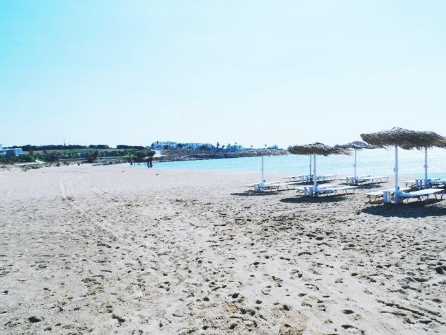 Golden beach Paros island.Best Paros beaches.Najbolje plaze Paros ostrva.Greek beaches for windsurfing.Blue restaurant beach bar Paros.Paros travel guide.
