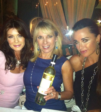 Housewives Sighting: Lisa Vanderpump, Kyle Richards and Ramona Singer