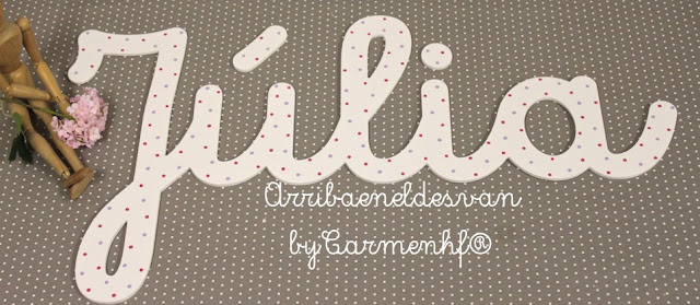 29 abril letras infantiles decorativas decoraci n - Letras decorativas infantiles ...