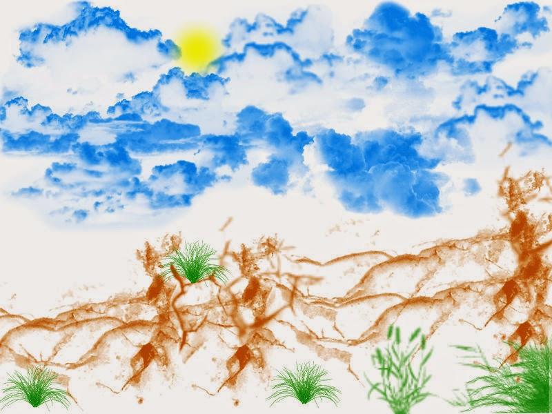 Pintando com o Pixlr-Paisagem
