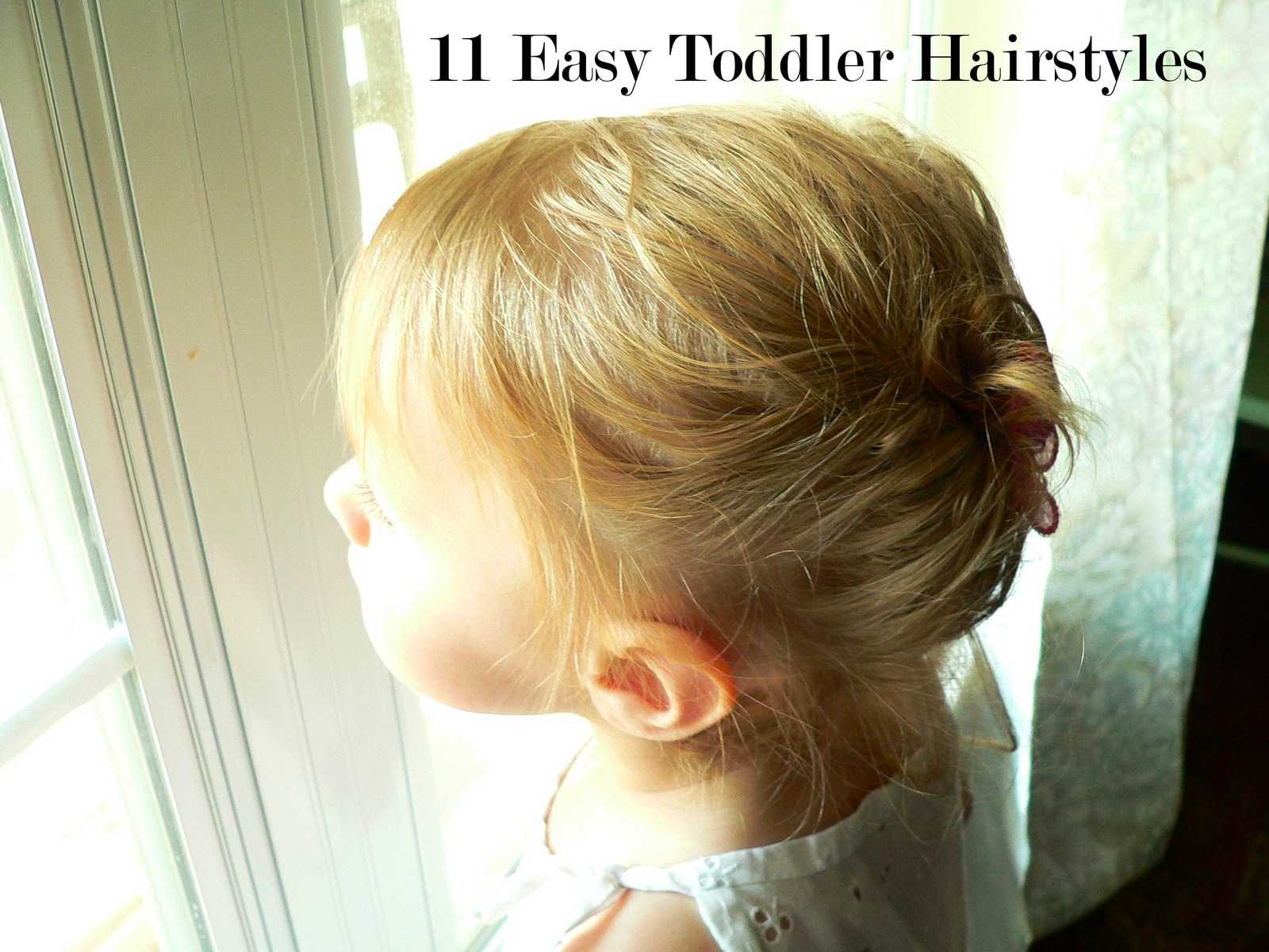 hairstyles for very long hair : Haircuts For Kids Girls Short Hair 11 easy toddler hairstyles