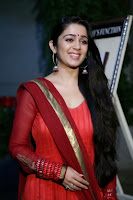 Actress Charmi Kaur Pictures in Red Salwar Kameez at Country Club Asia's Biggest New Year Bash 2014 Press Meet 0008.jpg