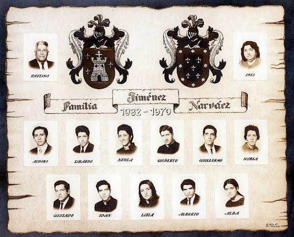 Heráldica Familia Jiménez – Narváez Medellín Antioquia