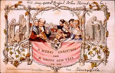 Inilah Kartu Natal Pertama di Dunia Karya John Callcott Horsley