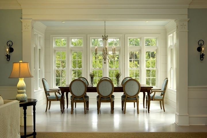 Calypso in the country a great find a very talented home designer - Carolina dining room ...