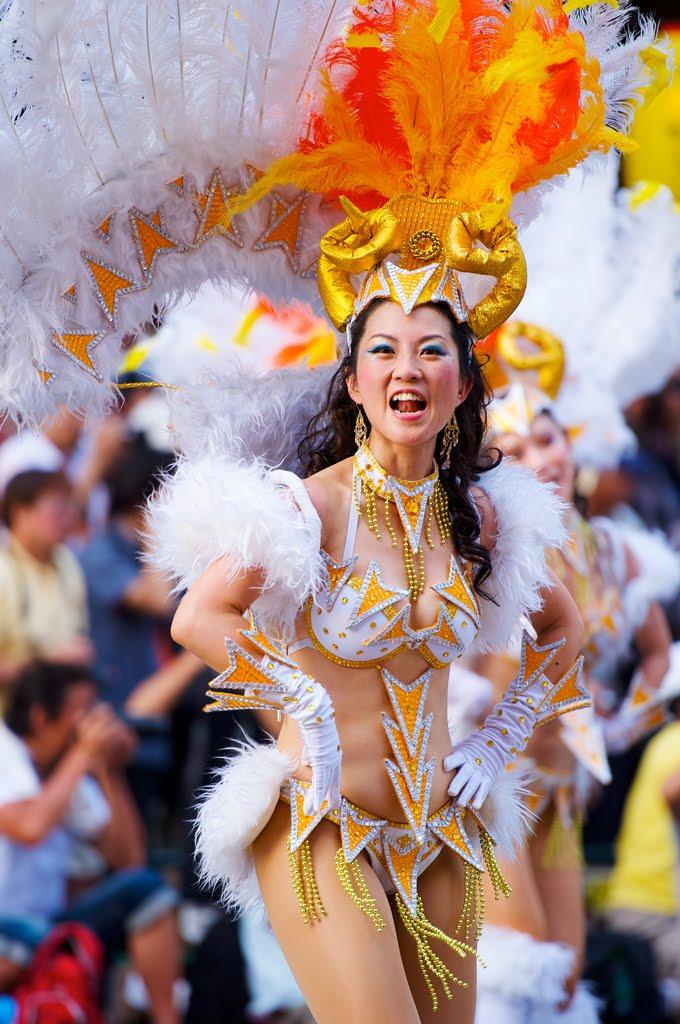 G.R.E.S. BÁRBAROS (仲見世バルバロス) at 第30回浅草サンバカーニバル (30th Asakusa samba carnival)