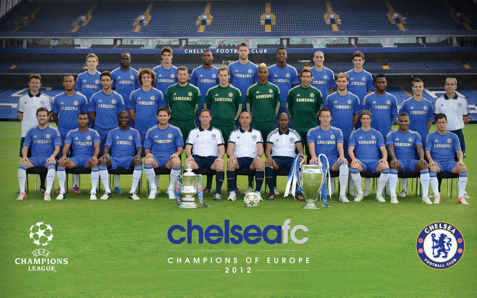 Chelsea FC Squad Picture 2012-13 | Football Club Pictures