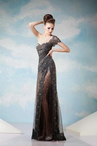 Fantásticos vestidos de noche económicos