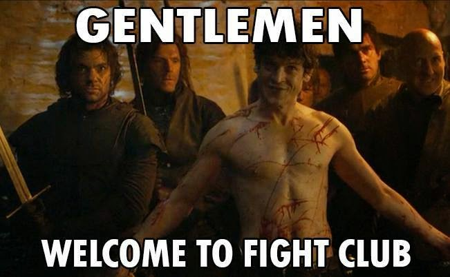 Is It #GameOfThrones or Fight Club? Ramsay Meme
