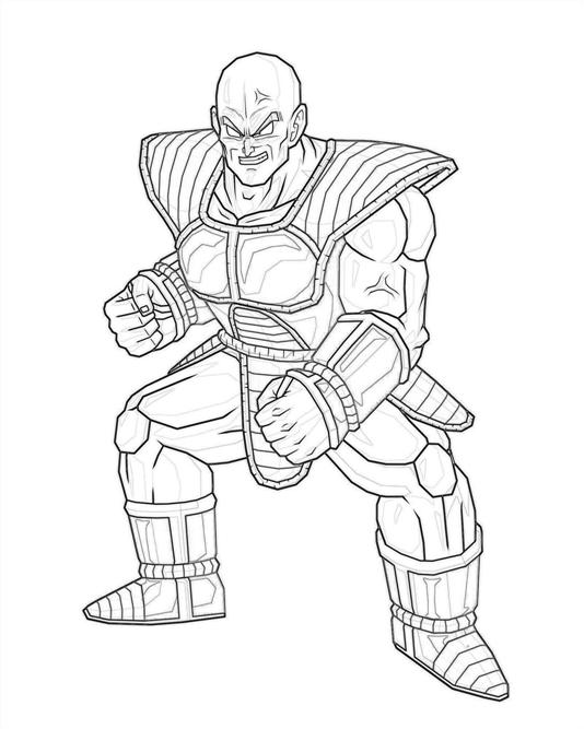 printable-nappa-strong_coloring-pages-1
