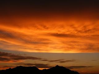 Sunset Gunung Muncung Kabupaten Lingga Dabo Singkep Kepri