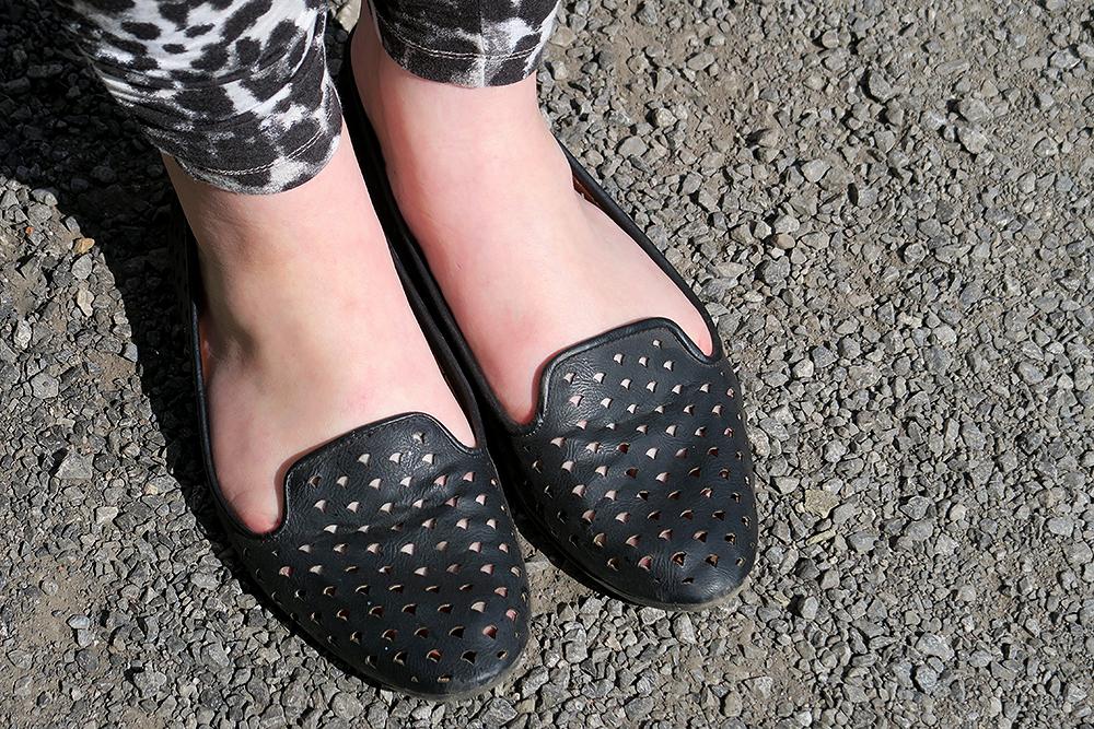Primark Laser Cut Loafers, Leeds Fashion Blogger