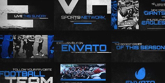 GRUNGE SPORTS PROMO - AFTER EFFECTS PROJECT (VIDEOHIVE) - Free Templates