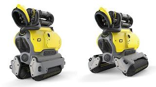 Robot Reciclador de Concreto Demolido, Ideas  Ecoresponsables de Reciclaje y Reutilizacion
