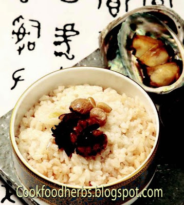 Abalone nutritional rice