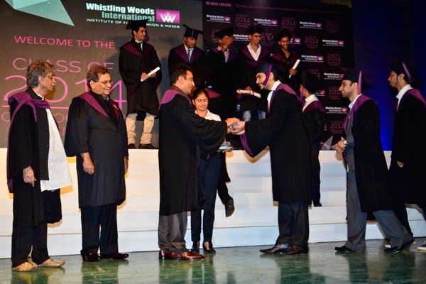 Kamal Haasan graces 'Whistling Woods International' convocation ceremony