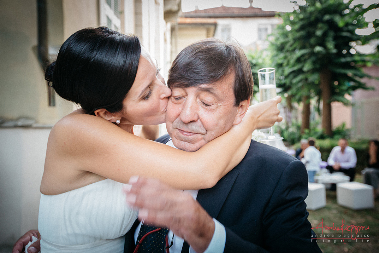 sposa bacia padre