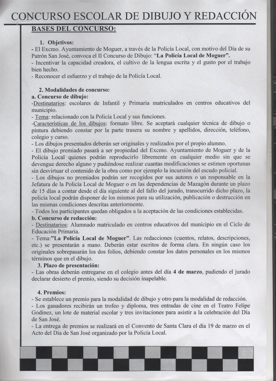 MAZAGN BEACH  CONCURSO ESCOLAR DE DIBUJO Y REDACCIN