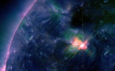 LLAMARADA SOLAR CLASE M1.9, 17 DE FEBRERO 2013
