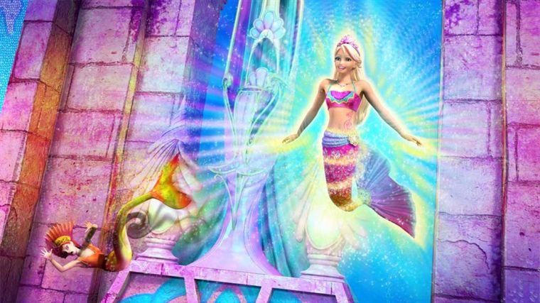 Barbie nuevas imagenes de barbie en una aventura de sirenas 2 - Barbi sirene 2 film ...