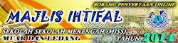 BORANG PENYERTAAN ONLINE MAJLIS IHTIFAL SEKOLAH MENENGAH DAERAH MUAR LEDANG 2014