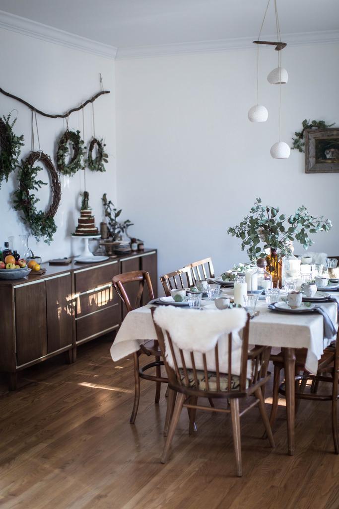 Inspiración mesas navideñas low cost by Habitan2