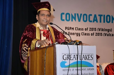 Great Lakes Institute of Management, Gurgaon Convocation 2015