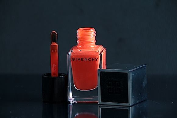 givenchy le vernis n°11 croisière mat orange avis test swatch