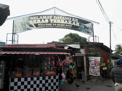 Beras Terbakar, Padang MatSirat Langkawi