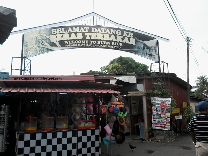 Throwback Beras Terbakar, Padang MatSirat Langkawi